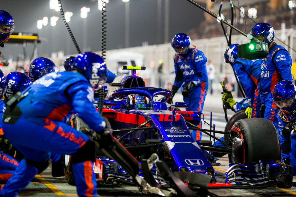 Romain Grosjean表示Toro Rosso與HONDA的合作令人震驚