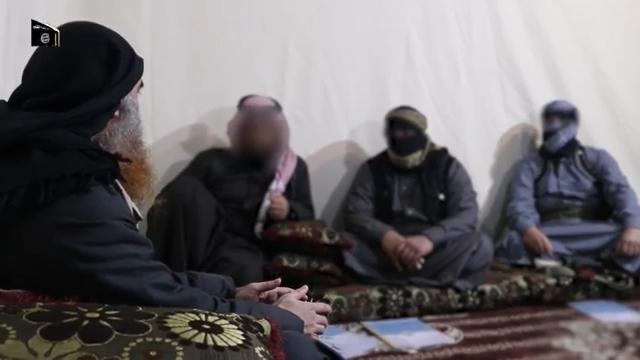 The man said to be Baghdadi referred to IS's defeat in its last redoubt Baghouz in the propaganda video (AFP Photo/-)