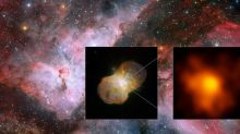 Two of the Largest Stars in the Galaxy Are Lashing Each Other With Stellar Wind