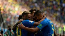 Triunfo agónico de Brasil elimina a Costa Rica; Argentina pendiente de Islandia-Nigeria