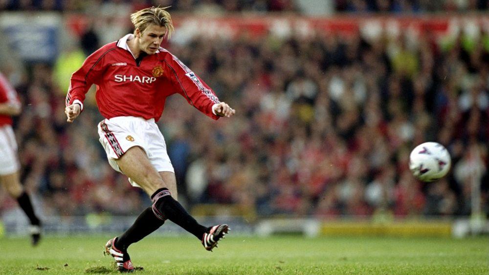 David Beckham fête ses 42 ans, zoom sur ses héritiers sur coup de pied arrêté