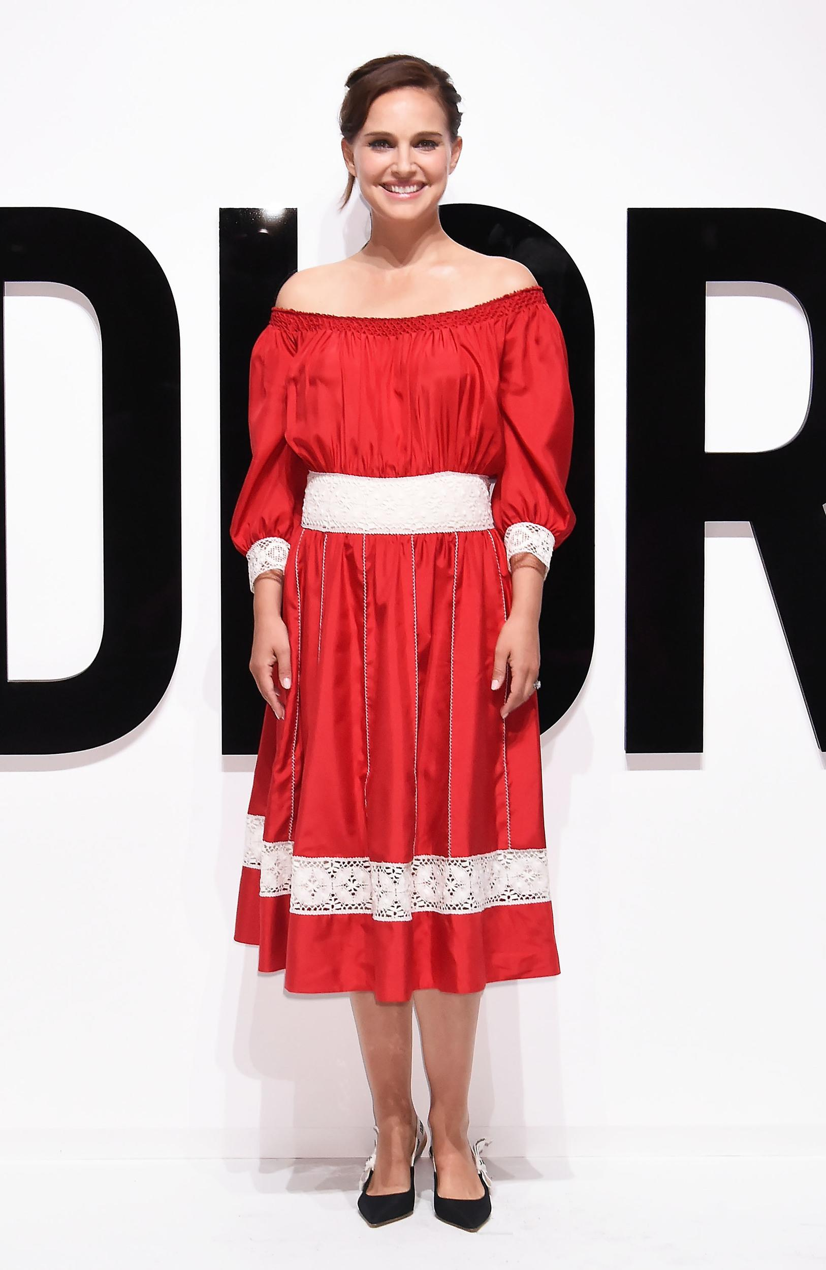 TOKYO, JAPAN - JULY 19:  Natalie Portman attends the Dior For Love photocall at Warehouse Terrada on July 19, 2017 in Tokyo, Japan.  (Photo by Jun Sato/WireImage)