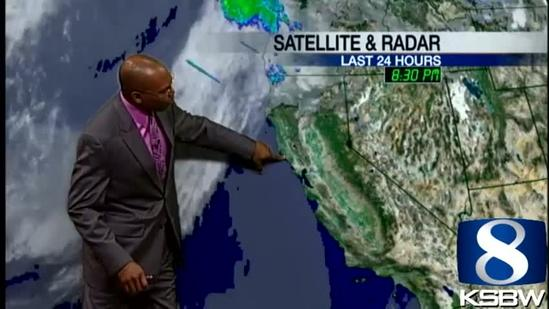 Watch your Sunday night KSBW weather forecast 06.23.13
