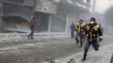 Strikes pound Syria's Eastern Ghouta as world fumbles for response