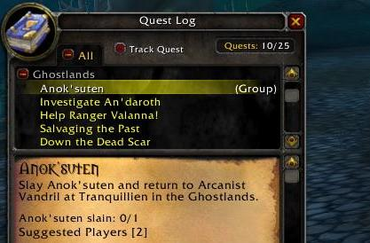 Faience's adventures in Outland: Elites? What elites?