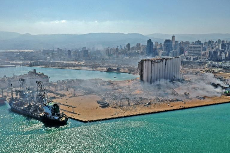 Beirut's port was debilitated by a massive explosion on August 4, when tonnes of ammonium nitrate exploded, killing nearly 200 people and destroying swathes of the Lebanese capital
