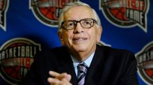 Ex-NBA commissioner suffers brain hemorrhage