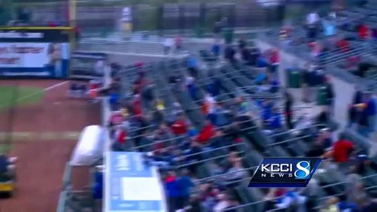 I-Cubs top OKC on chilly Saturday night