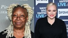 Whoopi Goldberg shuts down Meghan McCain in tense clash on 'The View': 'Stop talking right now'