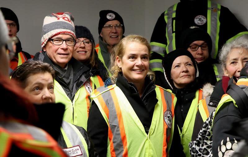 Gov. Gen. Julie Payette joins Bear Clan Patrol on first Manitoba visit