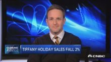 "Consumer Edge Research's David Schick rates Tiffany ""over..."