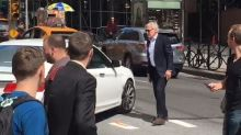 Harrison Ford Directs Traffic in New York City to the Delight of Pedestrian Onlookers -- Watch!