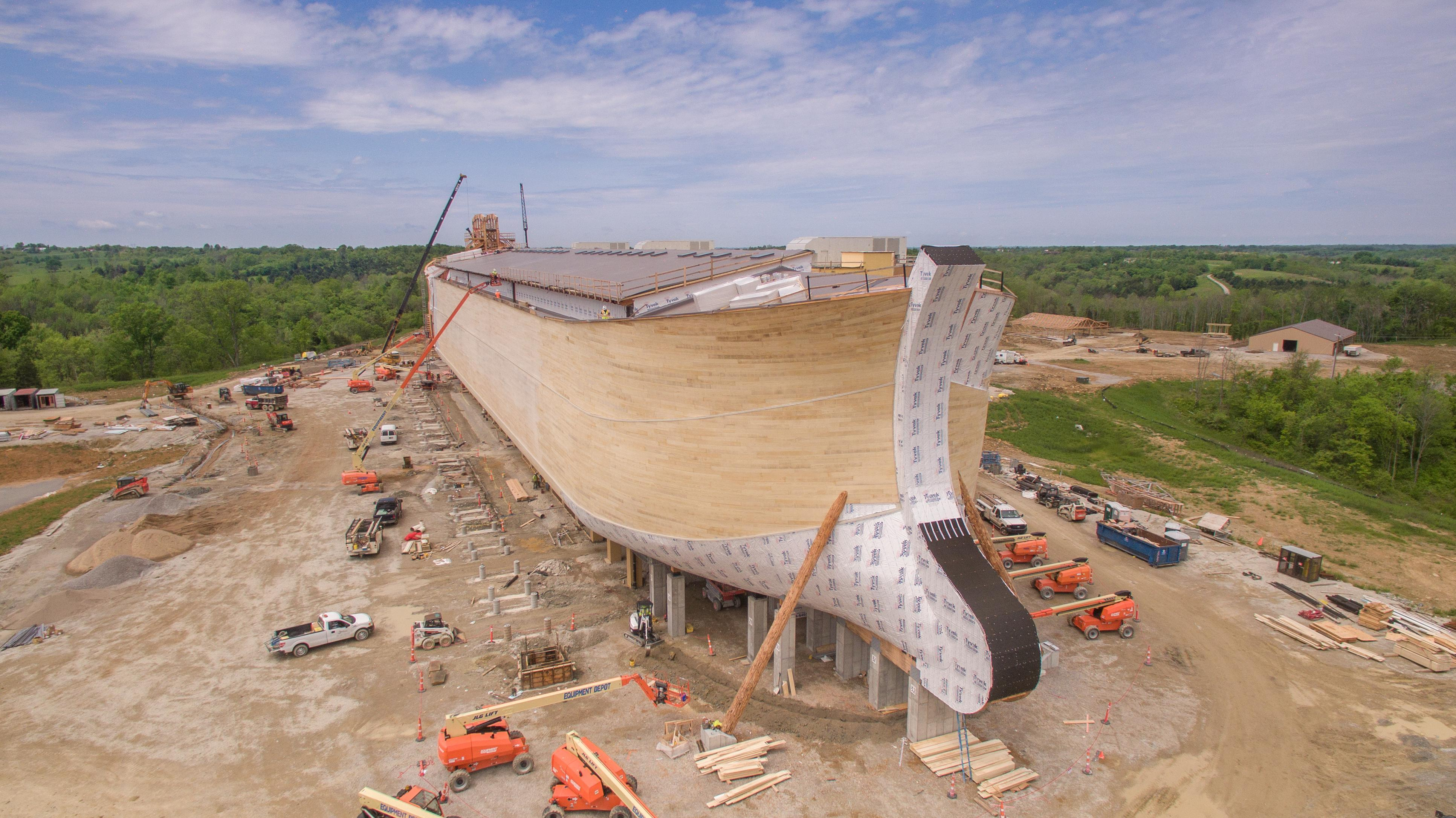 Controversial Noah's Ark Amusement Park Opens This Week in Kentucky