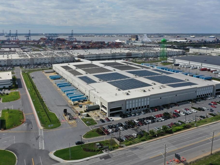 The 1.2 million-square-foot Amazon Fulfillment Center employed about 2,500 workers in April in the Chesapeake Commerce Center. The company is continuing to hire.