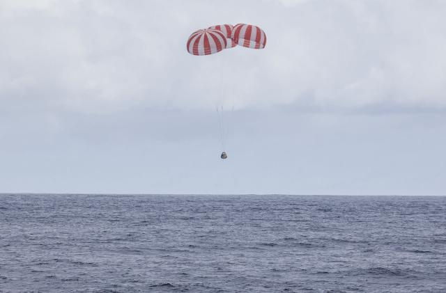 SpaceX Dragon capsule makes safe return from the ISS