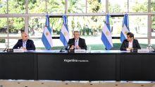 """Coronavirus en la Argentina: el Presidente, cinco gobernadores y un mensaje grabado que apelará a la """"responsabilidad"""" social"""