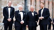 Prince Harry, Prince William and Prince Charles Step Out in Matching Tuxes for Rare Joint Event