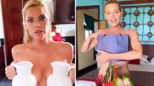 Sophie Monk ditches bikini to call out haters