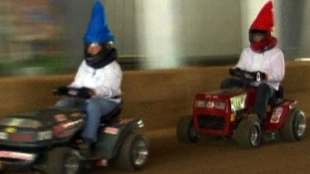 Gnome racers take on