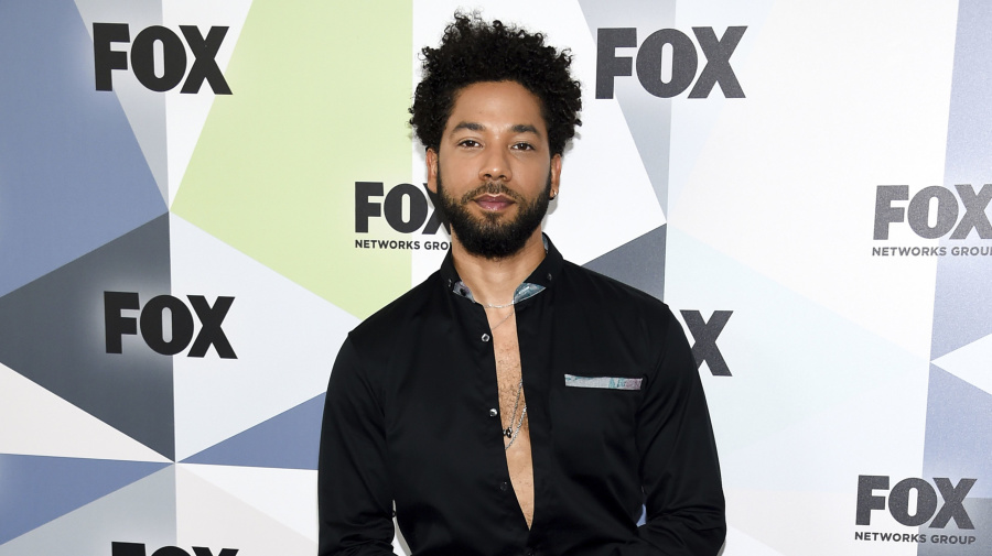 Smollett charged with filing false police report