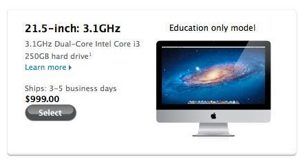 Discount education-only iMac appears, makes you wish you'd opened that institute of higher learning