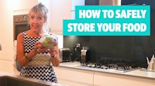 Aggie's Tips: How to safely store your food