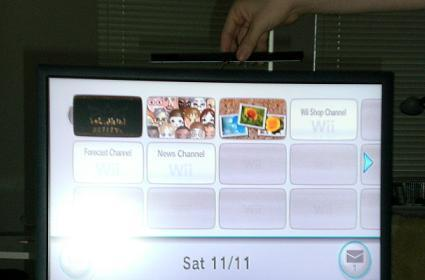 Posting messages on the Wii