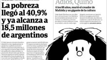 """Bande dessinée. L'Argentine dit """"adiós"""" à Quino, le père de Mafalda"""