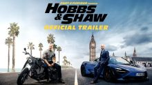 Dwayne Johnson and Jason Statham are fast, furious and funny in first 'Hobbs & Shaw' trailer