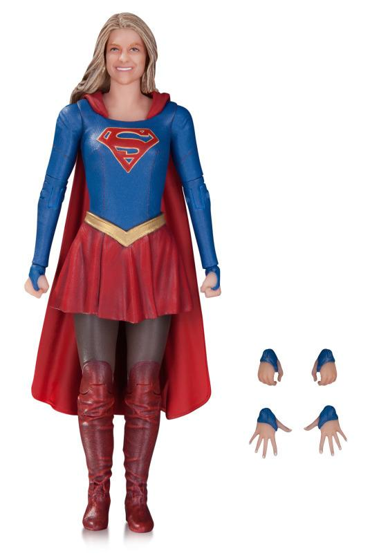 <p>The figure, on sale in May 2017, is based on Melissa Benoist's titular hero. <i>(Sculpted by Adam Ross & James Marsano; $28)</i></p>