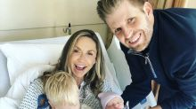 Lara and Eric Trump welcome a baby girl: 'The Trump dynasty widens!'