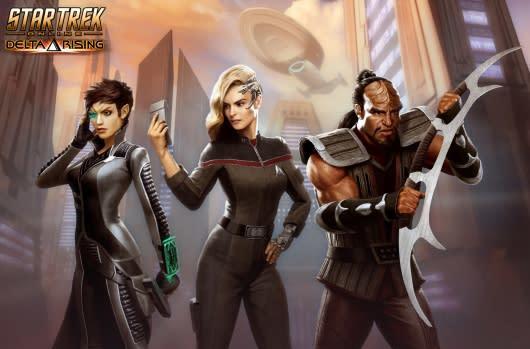 Star Trek Online's Delta Rising cinematic has... arisen