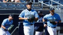 Mariners' Yusei Kikuchi has strong spring debut, OF prospects swing well