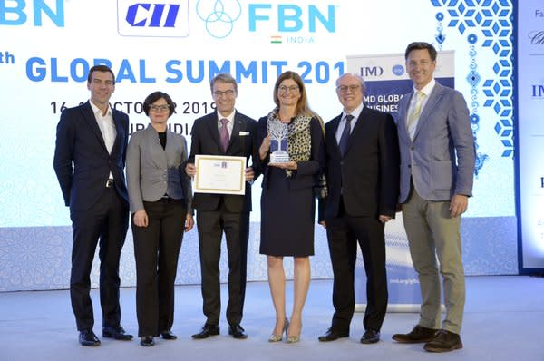 Dachser wins the 2019 IMD Global Family Business Award