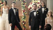 Arrowverse crossover extended promo: Earth-X Nazis crash Barry/Iris wedding
