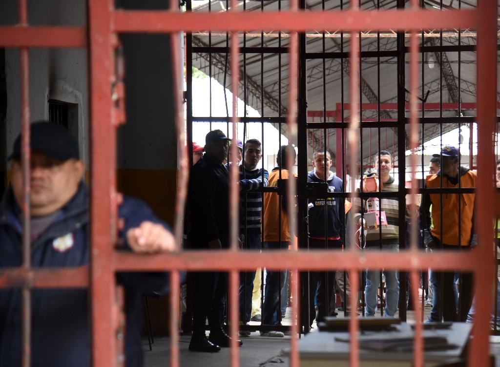 View of Tacumbu prison -where Brazilian drug trafficker Jarvis Chimenes Pavao was paying his sentence - in Asuncion (AFP Photo/Norberto Duarte)