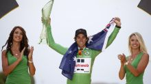 Australian cyclist wins Tour sprint title