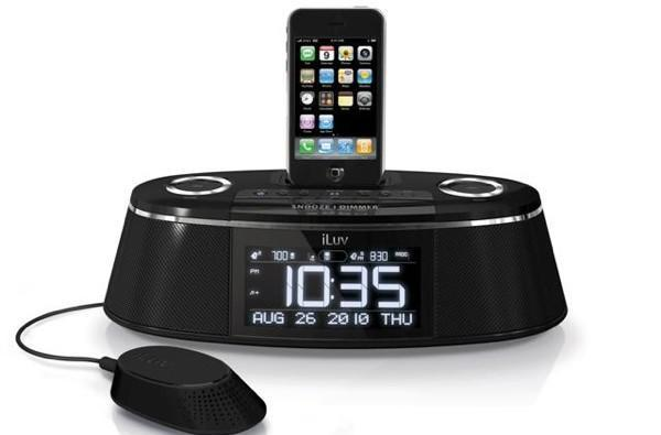 iLuv rolls out iMM178 Vibe Plus iPod dock with built-in 'bed shaker'