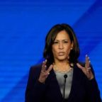 White House candidate Harris urges new investigation of Kavanaugh, FBI
