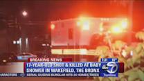 Bronx baby shower ends in gunfire; teenager killed