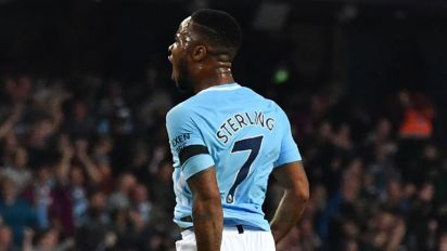 Raheem Sterling cancels out Wayne Rooney's landmark strike as Manchester City secure late draw with Everton