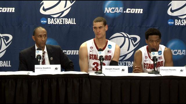 Raw Video: Stanford Reacts After Loss To Dayton In Sweet 16
