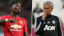 'I couldn't be happier with him!' - Mourinho rejects Pogba feud and confirms him captain for Brighton tie