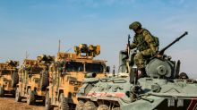 Russia bolsters new Syria base on Turkish border