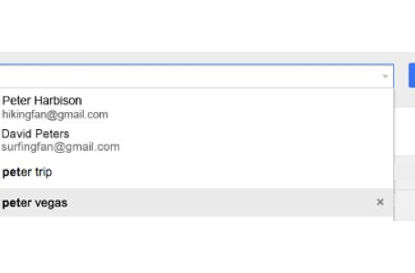 Gmail autocomplete updated with search history and contact thumbnails