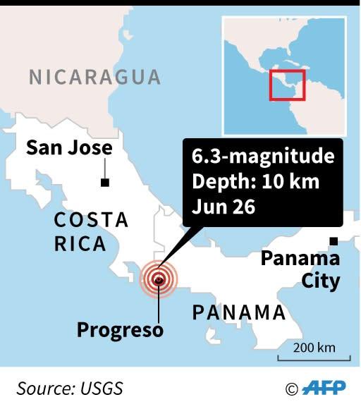 Costa Rica-Panama quake