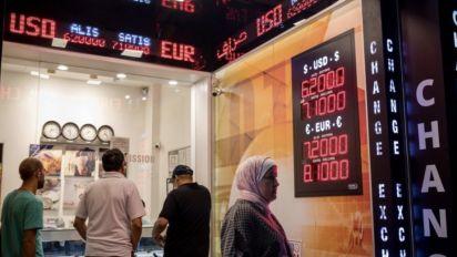 Turkish lira jumps as regulator limits banks' swaps