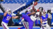 Ravens season slips away with 17-3 loss in blustery Buffalo