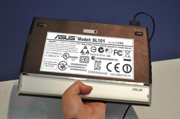 ASUS Eee Pad SL101 slides through the FCC, still misses promised May release
