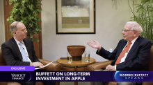 Warren Buffett weighs in on the long-term investment of Apple stock